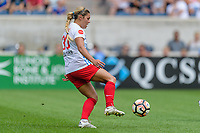 Bridgeview, IL - Saturday July 22, 2017: Lauren Kaskie during a regular season National Women's Soccer League (NWSL) match between the Chicago Red Stars and the Orlando Pride at Toyota Park. The Red Stars won 2-1.