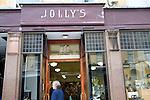 Jolly's department store sign, Milsom Street, Bath