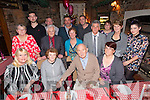 Birthday girl Helen Murphy Derrymore East Tralee (seated front second left) celebrating her 80th birthday with her sons who flew in specially from New York and her daughter who flew in specially from Canada and other family members and friends at Finnegans restaurant on Friday