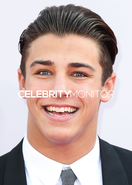 LOS ANGELES, CA, USA - NOVEMBER 23: Tanner Zagarino arrives at the 2014 American Music Awards held at Nokia Theatre L.A. Live on November 23, 2014 in Los Angeles, California, United States. (Photo by Xavier Collin/Celebrity Monitor)