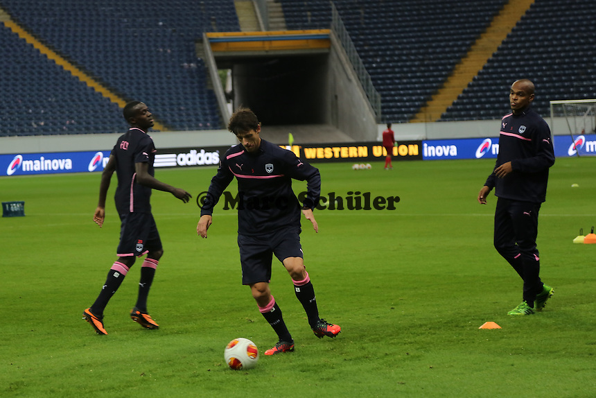 Training Girondins Bordeaux in der Commerzbank Arena - Training Bordeaux zur Begegnung der Europa League Eintracht Frankfurt vs. Girondins Bordeaux