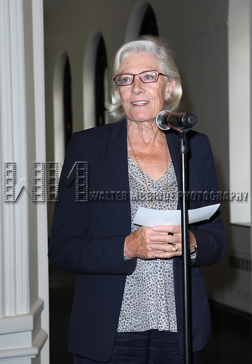 Vanessa Redgrave attending the Unveiling of the Revitalized Public Theater at Astor Place in New York City on 10/4/2012.