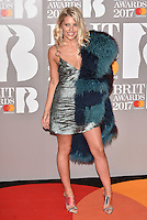 Mollie King (The Saturdays)<br /> The Brit Awards at the o2 Arena, Greenwich, London, England on February 22, 2017.<br /> CAP/PL<br /> &copy;Phil Loftus/Capital Pictures /MediaPunch ***NORTH AND SOUTH AMERICAS ONLY***