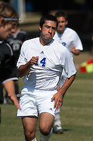 SAN ANTONIO, TX - OCTOBER 28, 2005: The West Texas A&M University Buffaloes vs. the St. Mary's University Rattlers Men's Soccer at the St. Mary's Soccer Field. (Photo by Jeff Huehn)