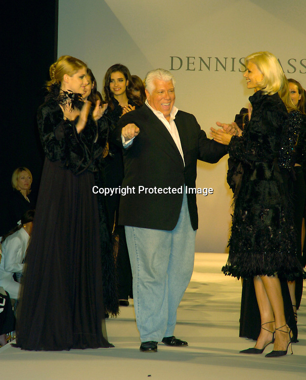 models on the runway..at the Dennis Basso Fall/Winter 2004 Fur Fashion Show on ..May 26, 2004 at Cipriani 42nd Street . Photo by Robin Platzer, Twin Images