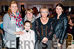 Aileen O'Leary, Caitriona Foley, Nicole, Joan and Michelle Warren, pictured at Sickly Come Dancing, UHK, at Ballygarry House Hotel & Spa, Tralee on Friday night last.