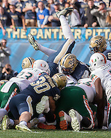 Miami Hurricanes at Pitt Panthers 11-27-15
