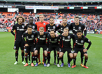 Washington D.C. - March 20, 2016: D.C. Untied tied the Colorado Rapids 1-1 during the home opener of the 2016 Major League Soccer season at RFK Stadium.