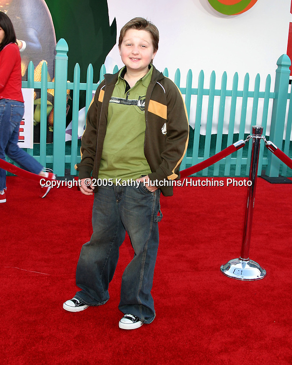 Angus T. Jones.Chicken Little Premiere.El Capitan Theater.Los Angeles, CA.October 30, 2005.©2005 Kathy Hutchins / Hutchins Photo