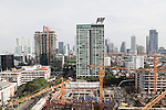 JAKARTA, INDONESIA, MAY 2013:<br /> View oj Jakarta city, construction are everywhere in the city, may 2013<br /> &copy; Giulio Di Sturco for Bloomberg Markets