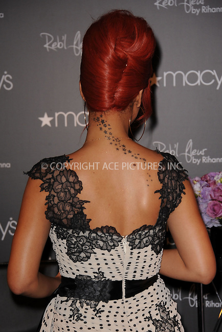 WWW.ACEPIXS.COM . . . . . .April 29, 2011...Rihanna attends the Reb'l Fleur fragrance launch at Macy's Herald Square on on April 29, 2011 in New York City....Please byline: KRISTIN CALLAHAN - ACEPIXS.COM.. . . . . . ..Ace Pictures, Inc: ..tel: (212) 243 8787 or (646) 769 0430..e-mail: info@acepixs.com..web: http://www.acepixs.com .