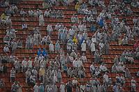 SÃO PAULO, SP 02.03.2019: SANTOS-OESTE - Torcida. Santos e Oeste em jogo válido pela nona rodada do campeonato Paulista 2019, no estádio Pacaembu, zona oeste da capital. (Foto: Ale Frata/Codigo19)