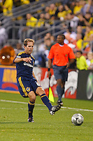 26 SEPTEMBAR 2009:  #6 Eddie Lewis of the LA Galaxy during the Los Angeles Galaxy at Columbus Crew MLS game in Columbus, Ohio on May 27, 2009.