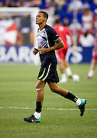 Jermaine Jenas. Tottenham defeated the New York Red Bulls, 2-1.