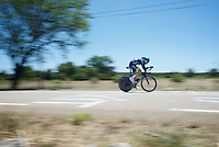 Luke Durbridge (AUS/Orica-BikeExchange) speeding along <br /> <br /> stage 13 (ITT): Bourg-Saint-Andeol - Le Caverne de Pont (37.5km)<br /> 103rd Tour de France 2016