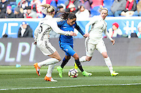 HARRISON, NJ, 04.03.2017 - FRANÇA-ALEMANHA - Grace Geyoro da França durante partida contra a Alemanha em  jogo valido pela segunda rodada da SheBelieves Cup no Red Bull Arena na cidade de Harrison nos Estados Unidos neste sábado , 04. (Foto: William Volcov/Brazil Photo Press)