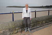 Pictured: Pat Stewart at Barry, south Wales. <br />