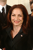 """Gloria Estefan appears at the """"Celebration of National Hispanic Heritage Month"""" in the East Room of the White House in Washington, D.C. on October 12, 2001..Credit: Ron Sachs / CNP"""