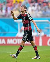 FUSSBALL WM 2014  VORRUNDE    GRUPPE G    in Recife USA - Deutschland                  26.06.2014 Thomas Mueller (Deutschland)