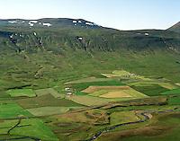 Dúkur séð til vesturs, Staðarhreppur / Dukur viewing west, Stadarhreppur.