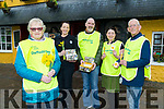 Chris Griffin chairperson of Tralee Branch of the Cancer society with volunteers who launched the daffodil Day outside Kirby's Brogun Inn on Monday front Chris Griffin, Garda Irene o'Riordan, Ed O'Connor,Rachel O'Connor (Kirby's Brogue Inn) and Cllr Sammy Loche