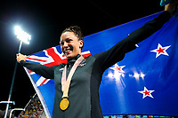 Commonwealth Games - Swimming - Optus Aquatics Centre, Gold Coast, Australia - Sophie Pascoe of New Zealand wins Gold in the Women's SB9 100m Breaststroke final. 9 April 2018. Picture by Alex Whitehead / www.photosport.nz