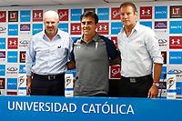 Futbol 2019 UC Presentación DT Gustavo Quinteros