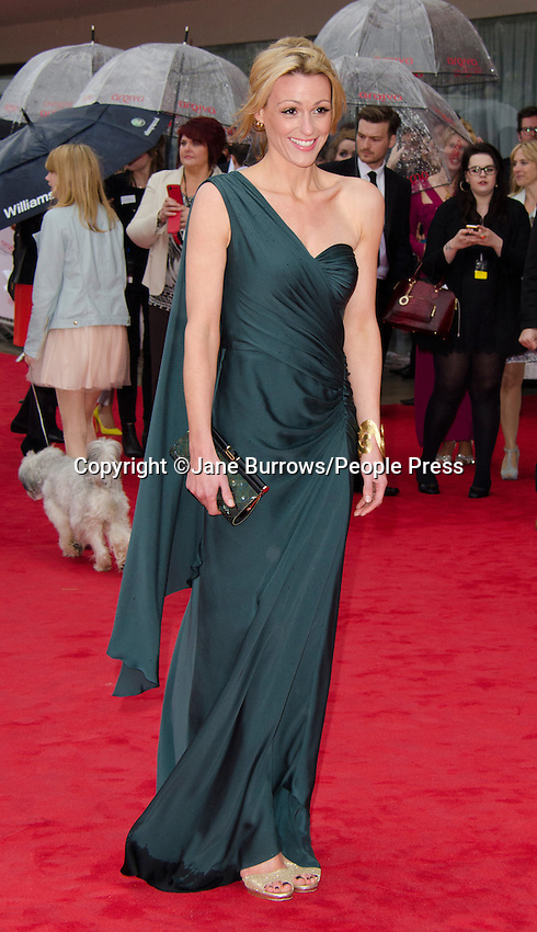 BAFTA Television Awards at the Royal Festival Hall, London - May 12th 2013..Photo by Jane Burrows..