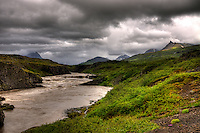 Atlantic Salmon River Breiddalsa