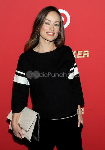 NEW YORK, NY - DECEMBER 07:  Olivia Wilde attends Target Presents 'The Toycracker' Premiere Event at Spring Studios on December 7, 2016 in New York City.Photo by John Palmer/MediaPunch