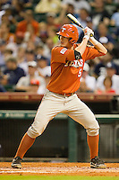 Christian Summers #5 of the Texas Longhorns at bat against the Rice Owls at Minute Maid Park on March 2, 2012 in Houston, Texas.  The Longhorns defeated the Owls 11-8.  (Brian Westerholt/Four Seam Images)