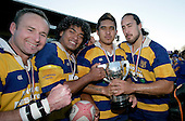 Brian Athur, Haani Hala'eua, Male Sau' & Alan Poa. McNamara Cup final - Premier 1 Championship, Patumahoe v Ardmore Marist. Patumahoe won 13 - 6. Counties Manukau club rugby finals played at Growers Stadium, Pukekohe, 24th of June 2006.