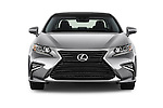 Car photography straight front view of a 2016 Lexus ES 350 4 Door Sedan 2WD Front View