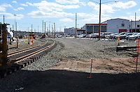 New Haven Rail Yard, Independent Wheel True Facility. CT-DOT Project # 0300-0139, New Haven CT.<br /> Photograph of Construction Progress Photo Shoot 21 on 2 April 2013. One of 50 Images Captured this Submission.