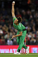 10th January 2020; Marvel Stadium, Melbourne, Victoria, Australia; Big Bash League Cricket, Melbourne Renegades versus Melbourne Stars; Nathan Coulter-Nile of the Stars bowls the ball - Editorial Use