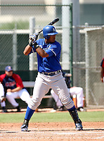 Salvador Perez / Kansas City Royals 2008 Instructional League..Photo by:  Bill Mitchell/Four Seam Images