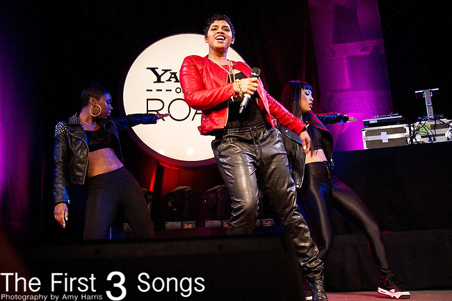 RaVaughn performs during the Yahoo! On The Road at Bogart's in Cincinnati, Ohio.