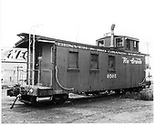 D&amp;RGW long caboose #0505 in Durango.<br /> D&amp;RGW  Durango, CO  Taken by Payne, Andy M.