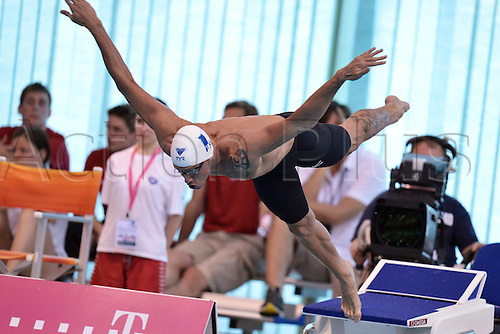 21.05.2012.  Debrecen Hungary.  Frederick Bousquet France Mens 50m Butterfly Debrecen European Swimming Championships