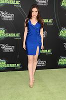 "Aubrey Miller<br /> at the ""Kim Possible"" Premiere, TV Academy, North Hollywood, CA 02-12-19<br /> David Edwards/DailyCeleb.com 818-249-4998"