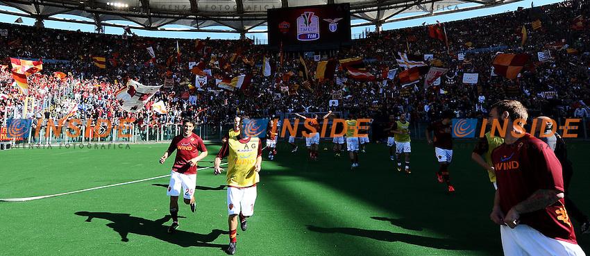 Francesco Totti Roma .Roma 26/05/2013 Stadio Olimpico.Football Calcio 2012/2013 .Calcio Finale Coppa Italia / Italy Cup Final.Roma Vs Lazio.Foto Andrea Staccioli Insidefoto