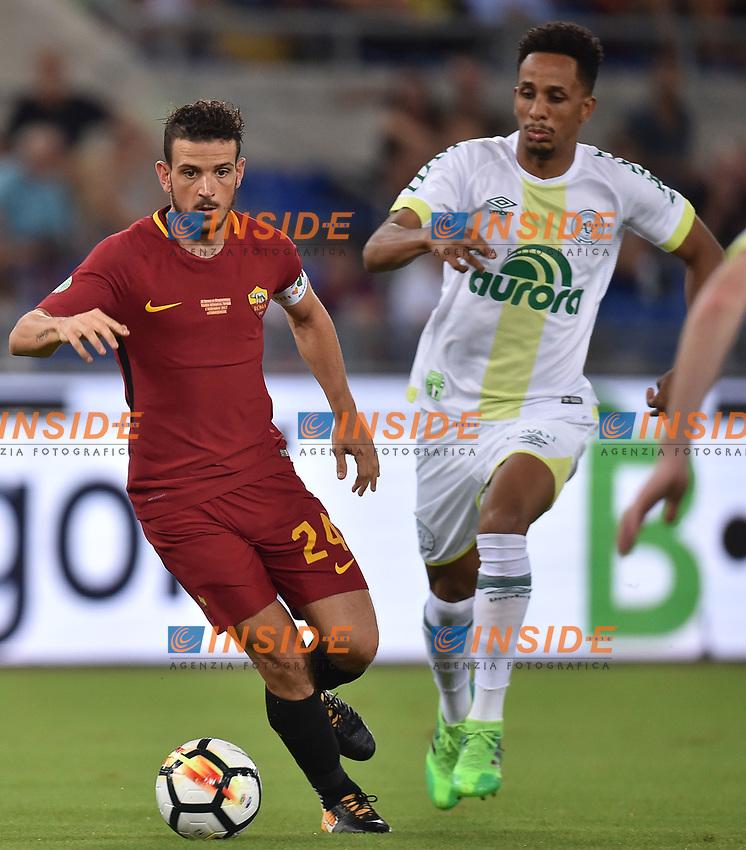 Alessandro Florenzi Roma <br /> Roma 01-09-2017 Stadio Olimpico Football Friendly match AS Roma - Chapecoense Foto Andrea Staccioli / Insidefoto