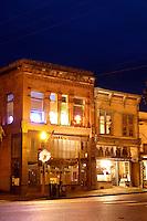 Sebastian's Restaurant on First Street, downtown Snohomish, Snohomish County, Washington, US