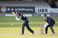 James Harris of Middlesex CCC plays into the on side on his way to a half century during Middlesex vs Lancashire, Royal London One-Day Cup Cricket at Lord's Cricket Ground on 10th May 2019