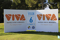 The 6th tee during the Pro-Am of the Challenge Tour Grand Final 2019 at Club de Golf Alcanada, Port d'Alcúdia, Mallorca, Spain on Wednesday 6th November 2019.<br /> Picture:  Thos Caffrey / Golffile<br /> <br /> All photo usage must carry mandatory copyright credit (© Golffile | Thos Caffrey)