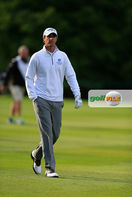 Nicolas COLSAERTS (BEL) during round 2 of the BMW PGA championship, Wentworth Golf Club, Virginia Waters, London.<br /> Picture: Fran Caffrey www.golffile.ie