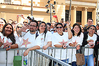 LOS ANGELES -JUL 26: Pepe Aguilar, fans at a ceremony honoring Pepe Aguilar with a Star on The Hollywood Walk of Fame on July 26, 2012 in Los Angeles, California