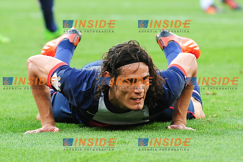 Edinson Cavani (psg) <br /> Football Calcio 2013/2014<br /> Ligue 1 Francia<br /> Foto Panoramic / Insidefoto <br /> ITALY ONLY