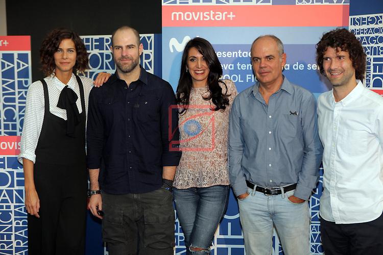 49 Festival Internacional de Cinema Fantastic de Catalunya-Sitges 2016.<br /> Press Conference Pool Fiction Movistar.