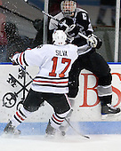 Steve Silva (NU - 17), Mark Fayne (Providence - 4) - The Northeastern University Huskies defeated the Providence College Friars 3-1 (EN) on Tuesday, January 19, 2010, at Matthews Arena in Boston, Massachusetts.